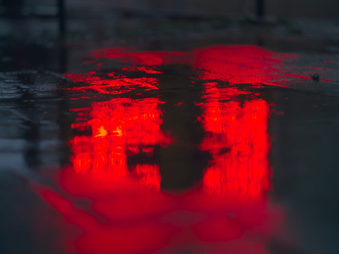 Weird Weather Paints Town Red; Citizens Shocked As Sky Screams