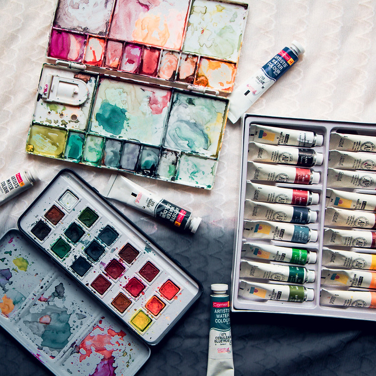 Online Visual Journaling Class / June 29 /30 (Please check the schedule for your time zone)