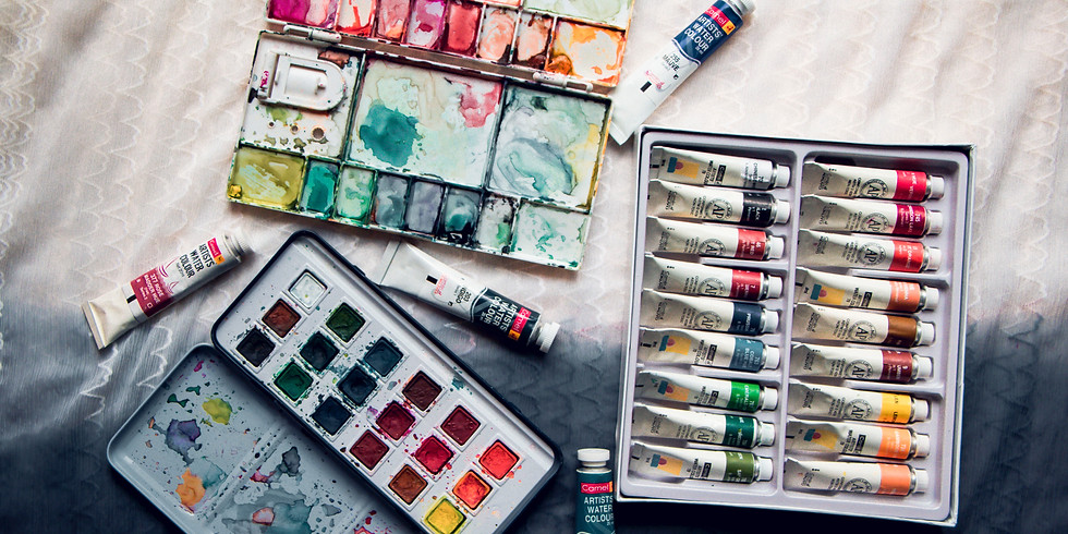Online Visual Journaling Class / June 23/34 (Please check the schedule for your time zone)