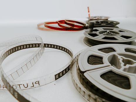 Movie reel focus area