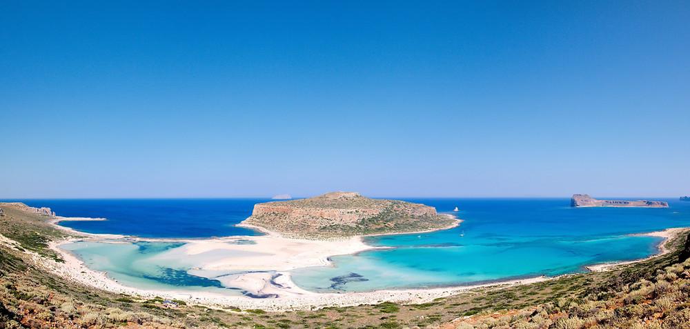 Balos Traumstrand Kreta Norwesten
