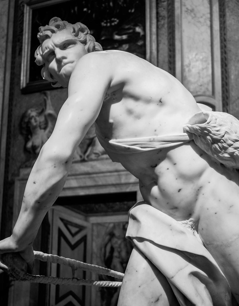 David - by Gian Lorenzo Bernini