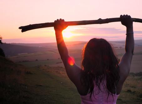 Glaube an dich selbst und du kannst Berge versetzen