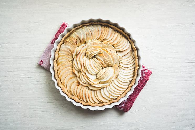 Pear Tart Recipe - Hapisoy