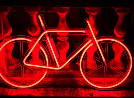 Red Rear Light - It's a TT Must!