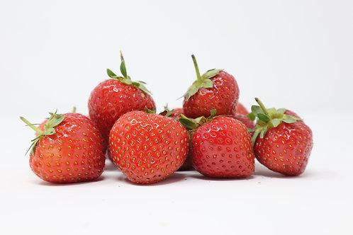 Hokkaido Milk with Strawberries Gelato