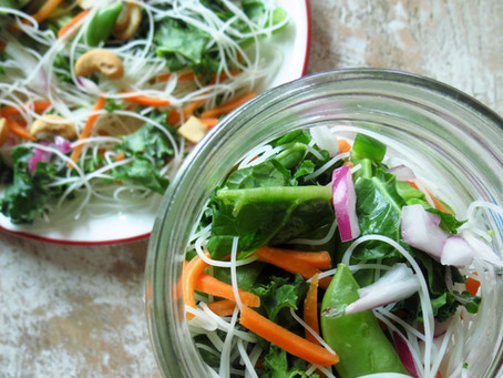 Mason Jar Salads - Portable and Jam Packed with Nutrition
