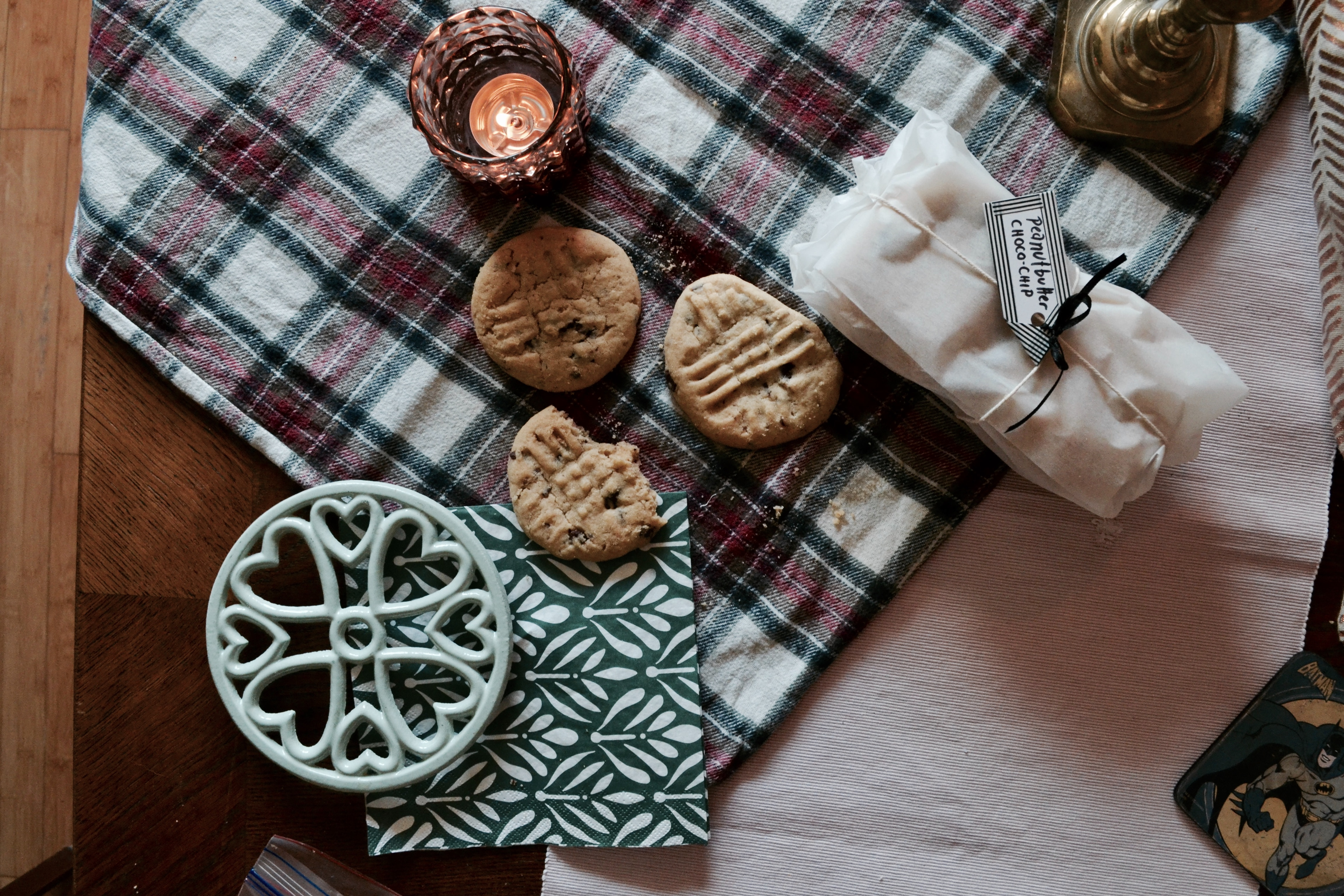 Flannel, Cookies, & Candles