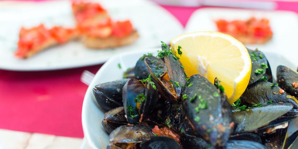 Italian Seafood Wine Dinner (Cena di Pesce)