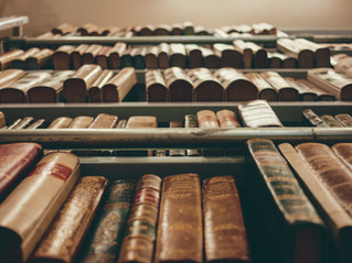 What is between the stacks?