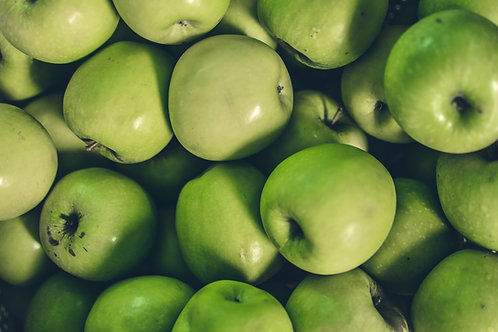 Certified Organic Less Loved Green Apples