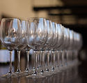 Image of wine glasses by Vicente Veras