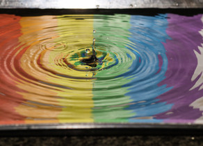 "Kind Karma® Healing Meditation. ""Rainbow-Light Showers, Brings Healing Powers."""