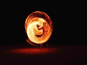 È quello il fuoco, che poi perdiamo: l'entusiasmo, la passione nelle cose che facciamo…