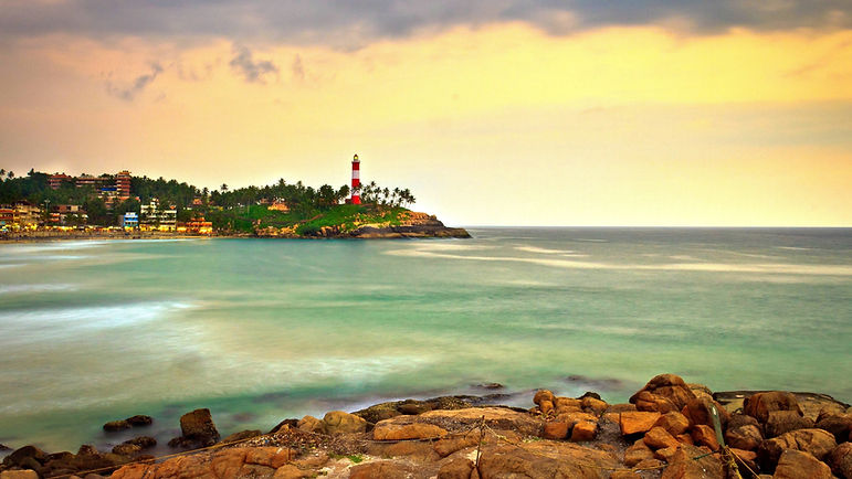 Beach tour of Kerala