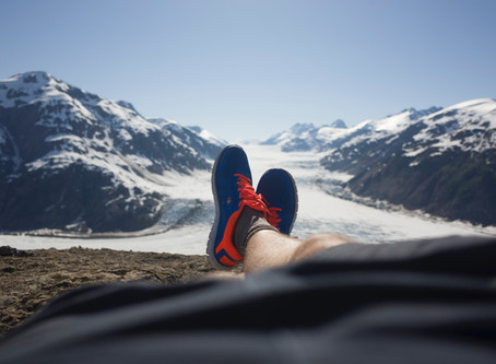 Want to be a better hiker? Put your feet up!