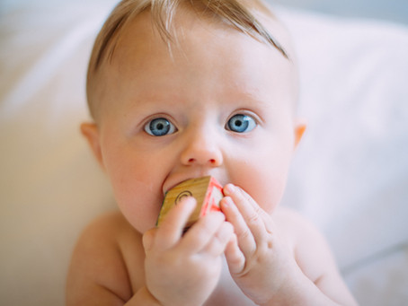 Is teething ruining my 4 month old's sleep?