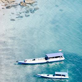 Cleaning The Island of Banda Neira Maluku Indonesia