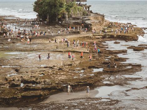 ¡Este templo es el más impresionante de Bali! Templo de Tanah Lot
