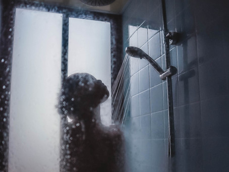 Si vede che ero in doccia...