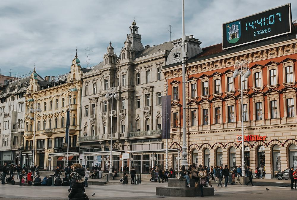 City Square, Zagreb, Croatia by Kristijan Arsov