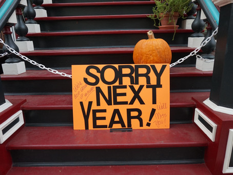 The Church Doesn't Do Halloween But The Rest Of The World Does - A Dementia View