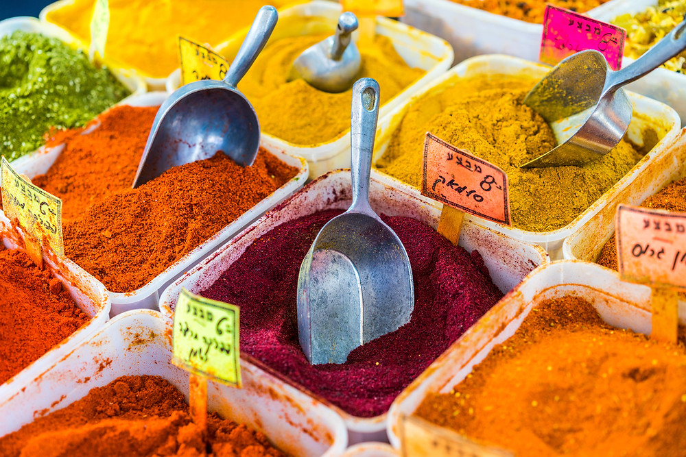 Olive oil enhances the bioavailability of spices