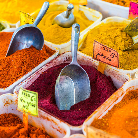 Spices are amazing health foods, especially with olive oil