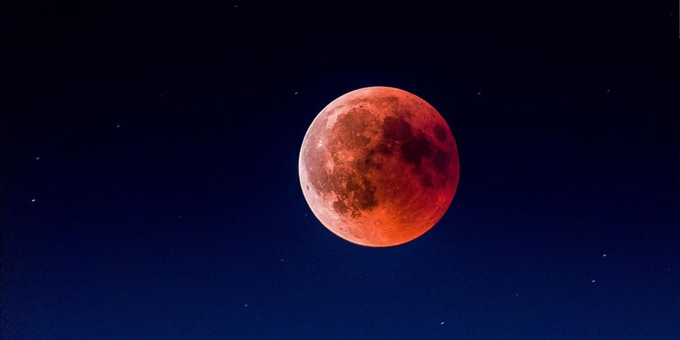 Super Flower Blood Moon ~ Lunar Eclipse