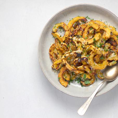 Brazilian Squash with Shrimps from Crete | Βραζιλιάνικη Κολοκύθα με Γαρίδες από την Κρήτη