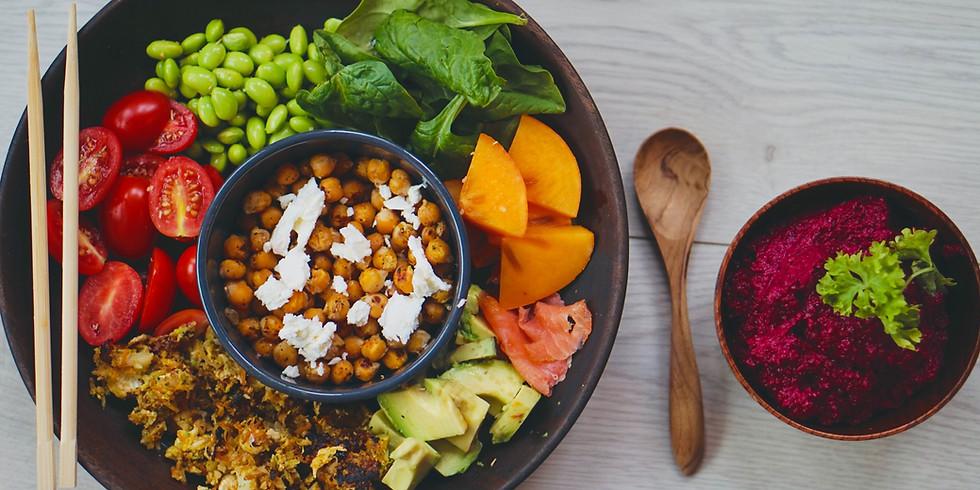 REPORT ULTÉRIEUR atelier cuisine saine : Buddha bowls + dessert gourmand et sain