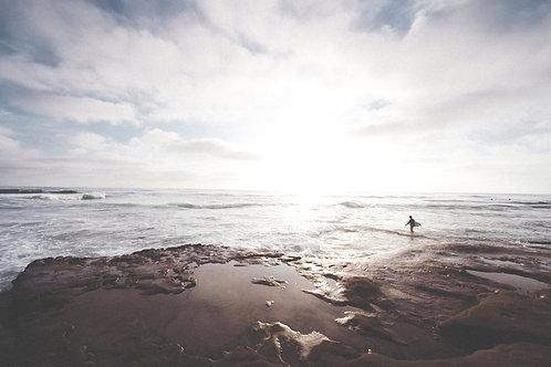 beach walk relaxation with Nicola Thompson