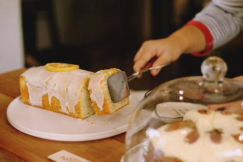 Lemon Pound Cake (Rs 1200/Kg, Minimum Order 1 Kg)