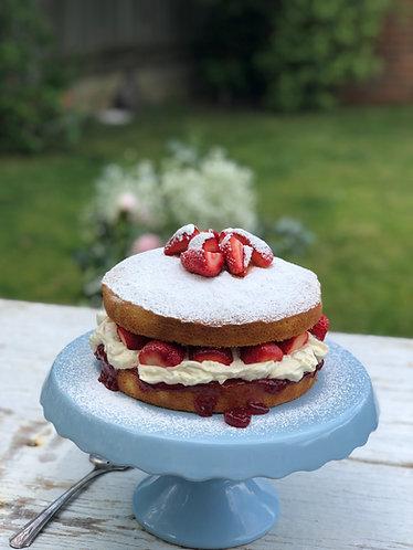 Victoria Sponge Bake Kit