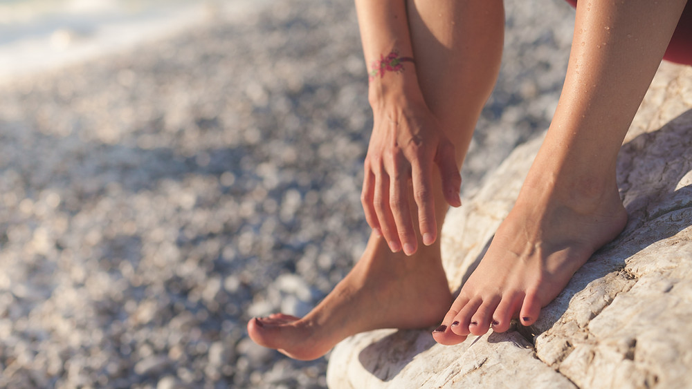 yoga for feet and ankles - picture of feet