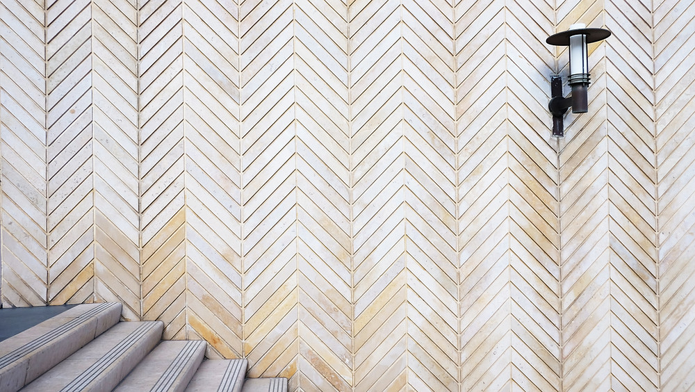 Chevron Wall Covering