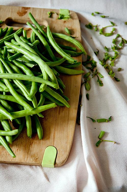 Organic Beans Greens