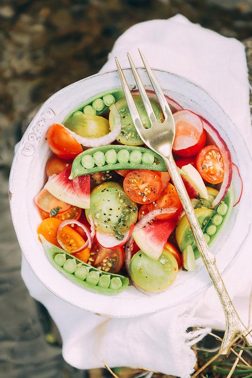Fresh Israeli Salad