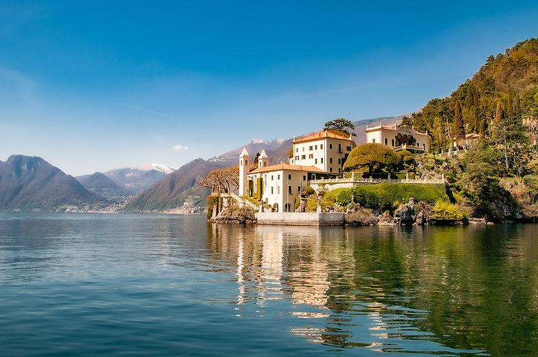 Palatial villa on Lake Como, Italy, Image by Lewis J Goetz