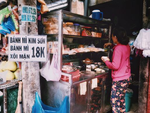 Street Food in Hanoi's French Quarter