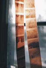 strips of negatives scanning
