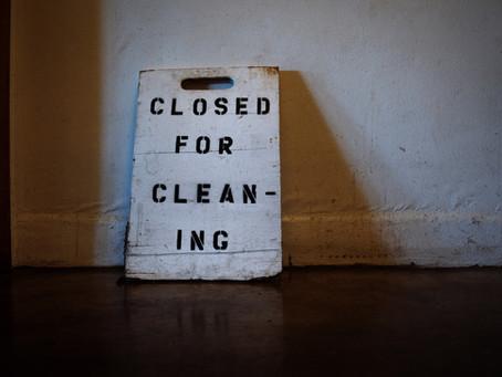 Keeping the floor clean
