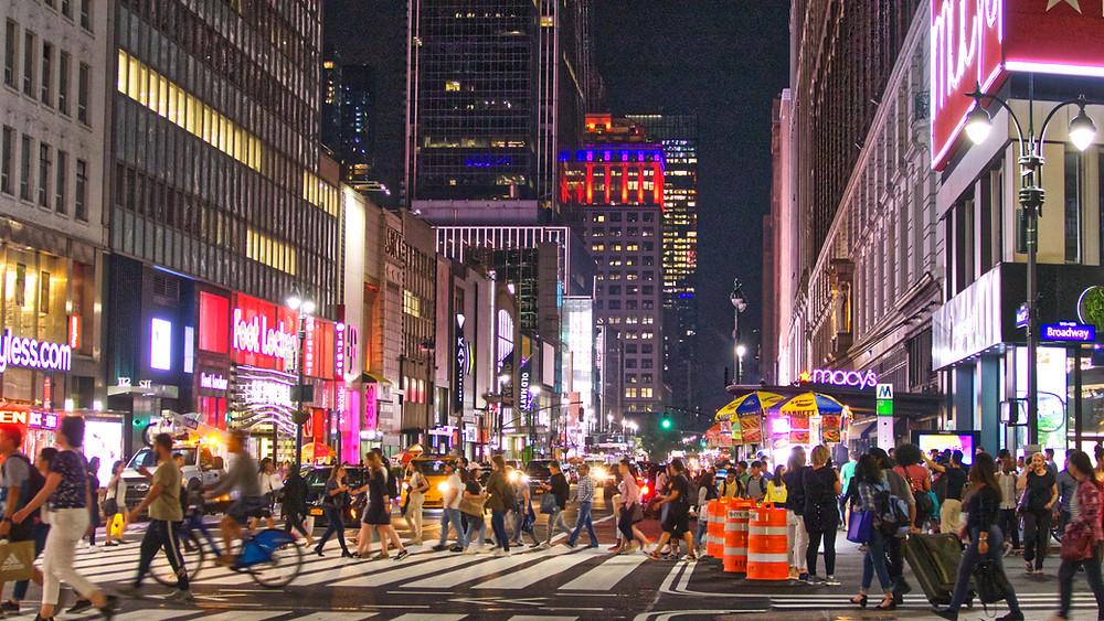 ניו יורק רחוב 34 קניות