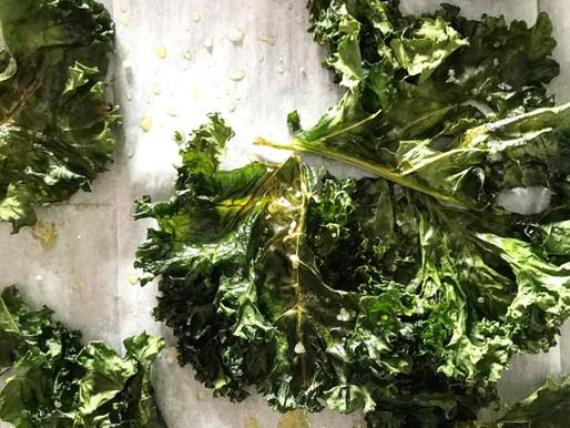 Tangy Kale Crisps