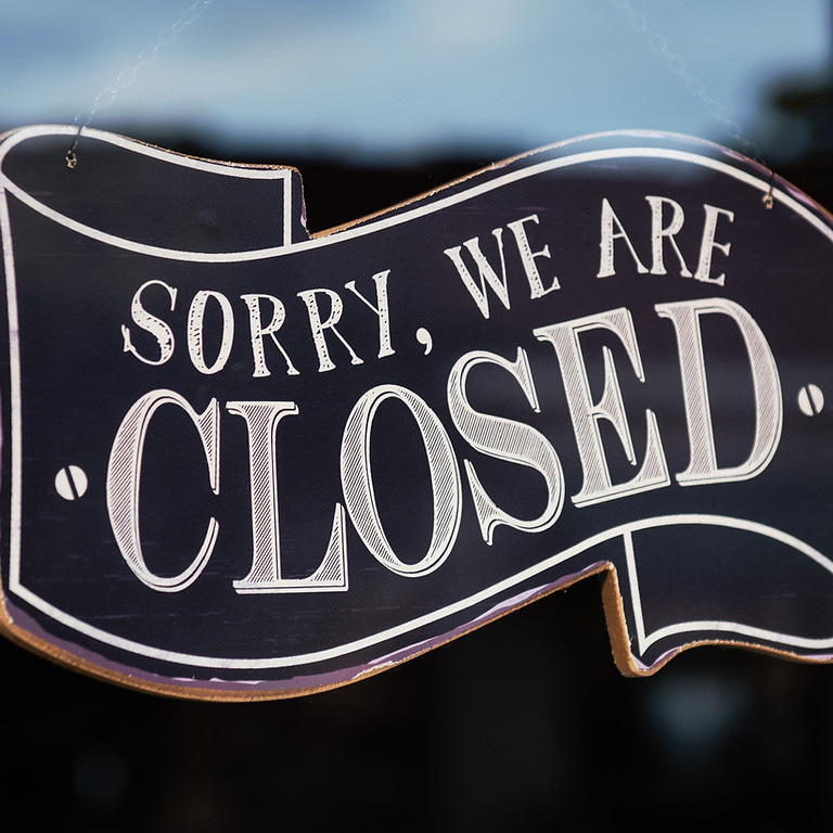 NAGLY Closed July 4-11