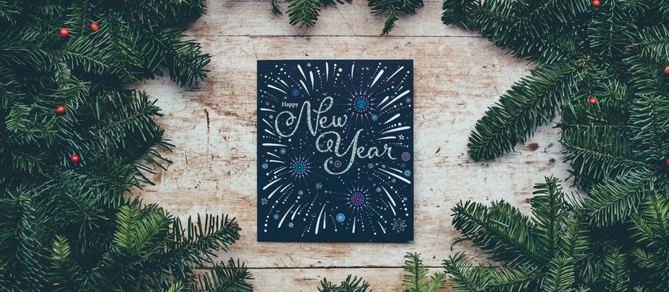 Happy Year Full of New!
