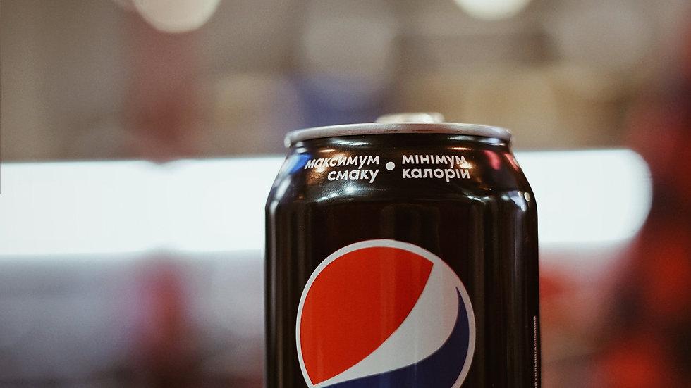 Pepsi Max Can