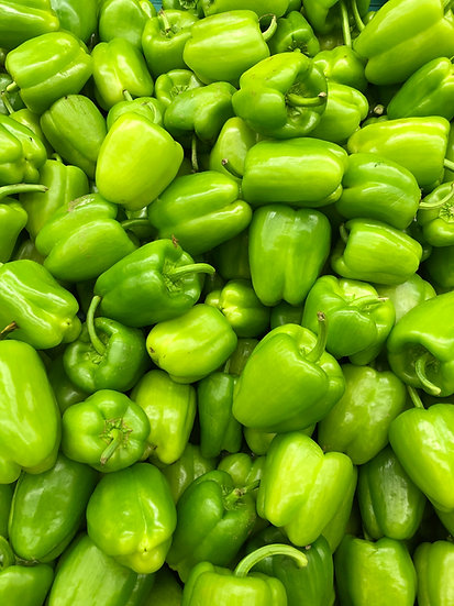 1lb Green Peppers