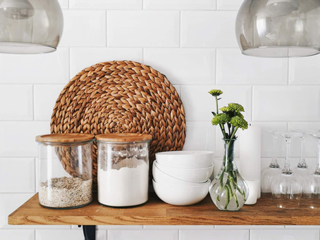 What Items to Display in your Kitchen (and what to keep in your Cabinets)