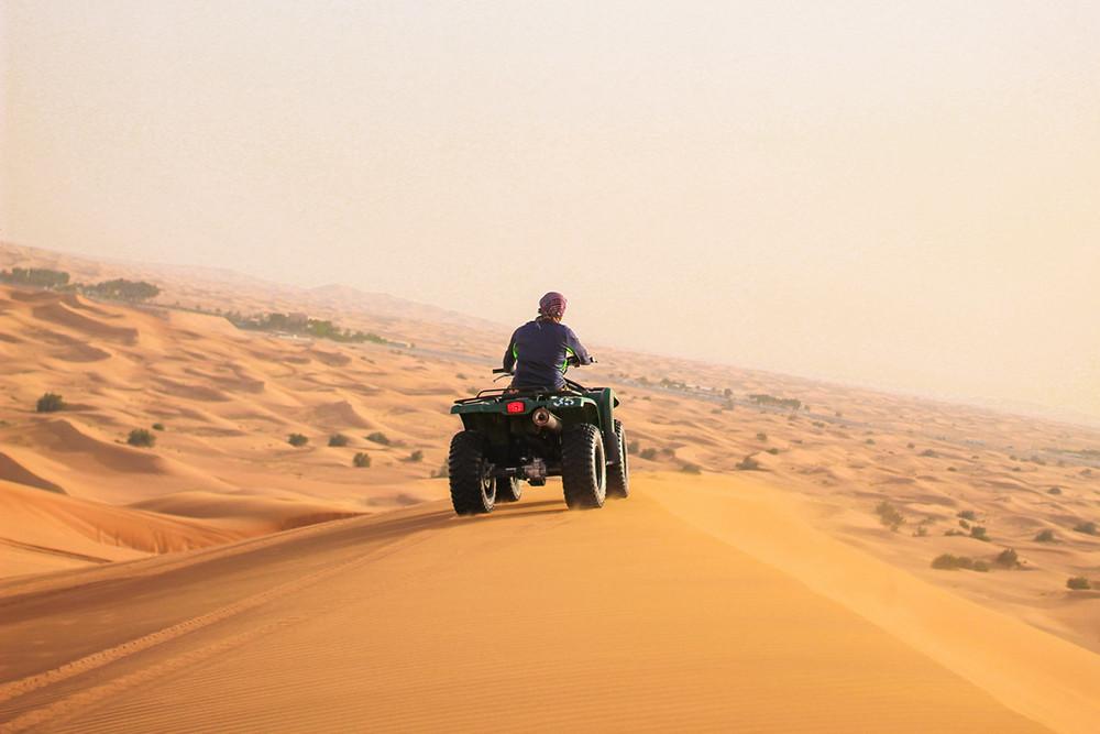 Sand Dunes in Dubai, United Arab Emirates